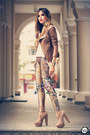 Brown-boda-skins-jacket-light-brown-labellamafia-leggings-eggshell-romwe-top