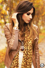 Brown-boda-skins-jacket-gold-lovelysally-leggings