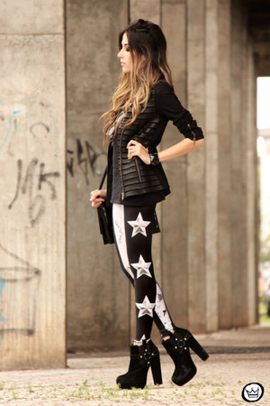 black Alpinestars by Denise Focil jacket - black Lovelysally leggings