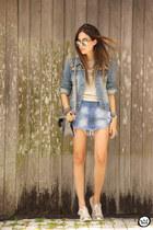 blue MacStile skirt
