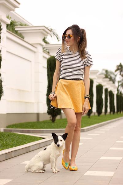 Yellow-estilo-menina-flats