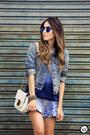 Blue-displicent-skirt
