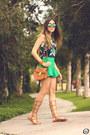 Blue-anna-morena-top-green-slywear-skirt-tawny-esdra-sandals