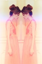 light pink Renner dress