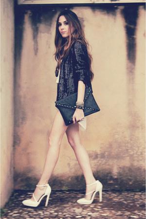 Renner blazer - romwe sunglasses - Lovelysally skirt