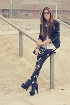 black MINUSEY jacket - black Labellamafia leggings