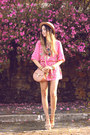 Hot-pink-displicent-dress