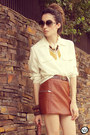 Burnt-orange-modaki-skirt