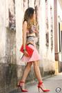 Red-moikana-skirt