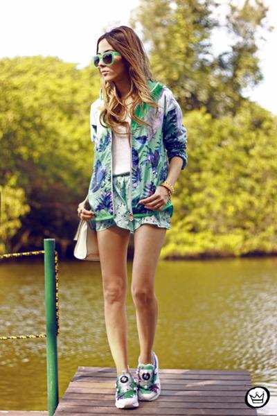 aquamarine Puma coat