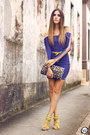 Blue-displicent-dress