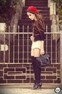 Morena-raiz-shorts-morena-raiz-coat-ville-rose-hat