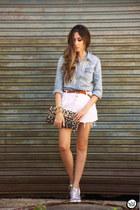white MacStile skirt