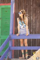 blue Lez a Lez skirt
