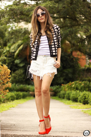 white MacStile skirt