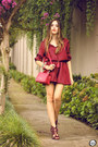 Ruby-red-amaro-dress-ruby-red-dafiti-bag-ruby-red-esdra-heels