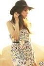 White-antix-dress