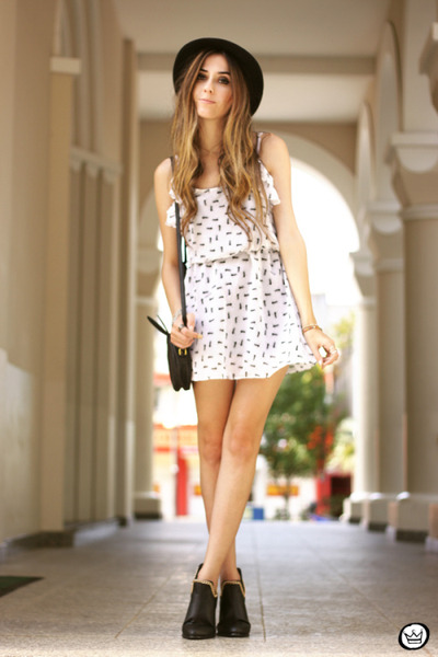 white ChikLuk dress