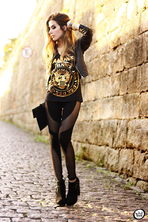 black Labellamafia leggings - black Ohkei t-shirt