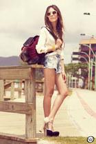 Bruna Starling bag - Gabriela Faraco necklace