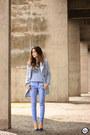 Light-blue-tomtop-coat-light-blue-gap-pants-light-blue-gap-jumper