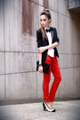 Black-victor-dzenk-blazer-black-asos-bag-red-marisa-pants