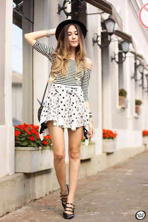 white Sly Wear top - white Sly Wear skirt