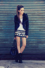 Black-romwe-jacket-black-xiquita-bakana-skirt