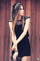black Morena Raiz dress