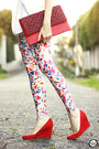 Ruby-red-lovelysally-leggings-white-displicent-blazer