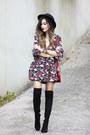 Maroon-farfetch-dress