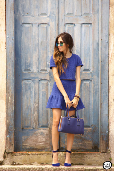 blue Displicent top