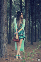 dark green MondaBelle dress