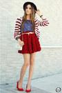 Romwe-cardigan-wildfox-t-shirt-chicwish-skirt