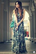 sky blue Antix dress