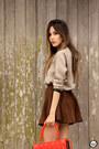 Red-lucchetto-bag-crimson-dutmy-skirt