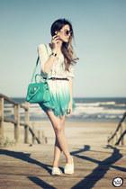 light blue Moikana dress