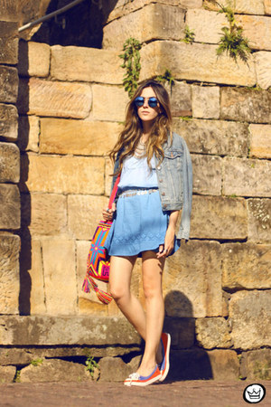 sky blue Dutmy dress