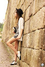 White-vateno-shorts-white-vateno-top