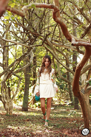 white Moikana dress
