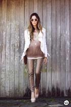light brown As Marias pants