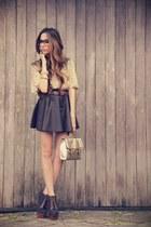 Xiquita Bakana skirt - asos bag - Brech da Neide top - asos heels