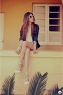 Navy-leather-alpinestars-by-denise-focil-jacket-white-romwe-sunglasses