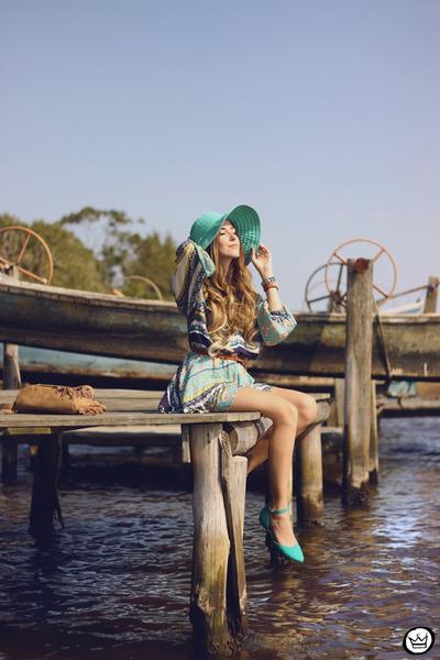 aquamarine Moikana dress