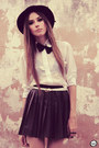 Black-goodnight-macaroon-skirt-white-awwdore-shirt-black-choies-wedges