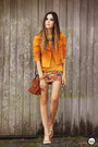 Light-orange-shop-thrift-market-dress