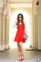 red Bqueen dress