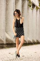 black Dafiti top - black Dafiti skirt