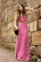 hot pink Antonieta dress