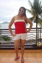 Terranova sunglasses - swimwear - shorts - Havaianas scarf